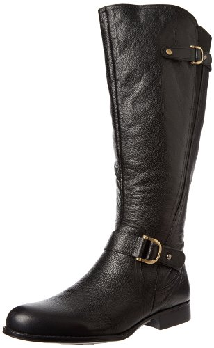 Big Sale Naturalizer Women's Jersey Wide Shaft Knee-High Boot,Black,7.5 M US