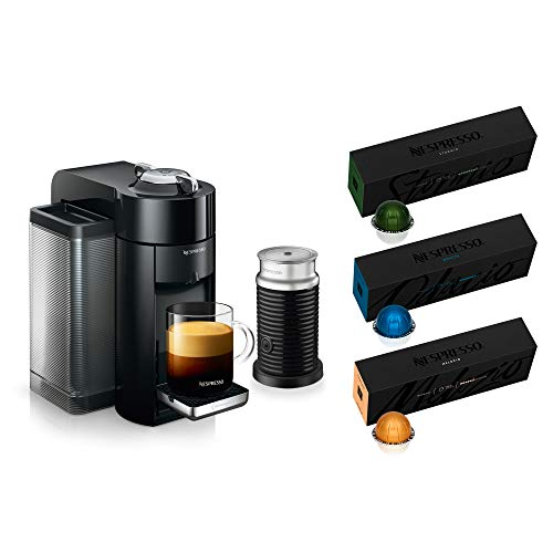Nespresso Vertuo Coffee and Espresso Machine Bundle by De