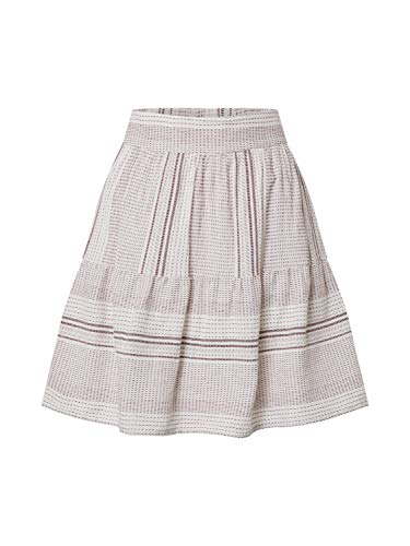VERO MODA Damen VMHAZEL HW Skirt WVN Rock, Laurel Wreath, M