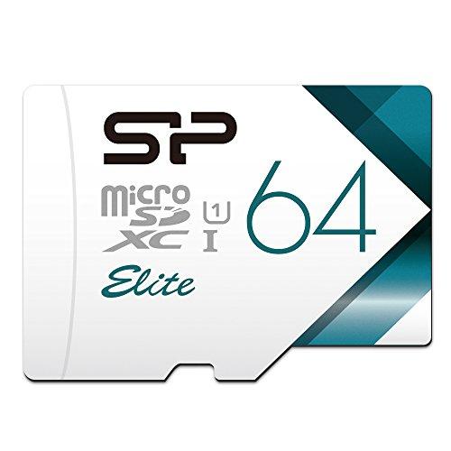 Silicon Power MicroSD Karte mit Adapter 64GB 64 GB