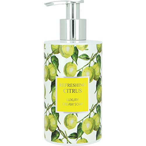 VIVIAN GRAY 1012 Seifenspender mit Creme-Seife Refreshing Citrus, gelb/grün (250 ml)