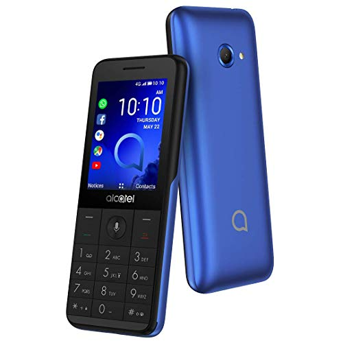 "Alcatel 3088 Metallic Blue 2.4"" Con Whatsapp LTE Dual SIM"