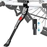 ZSWQ Pata de Cabra para Bicicleta Aluminio Soporte Ajustable del Retroceso de Bici Caballete...