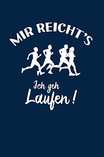 Läufer: Ich geh Laufen!: Notizbuch / Notizheft für Jogger-in Jogging Läuferin A5 (6x9in) dotted Punktraster