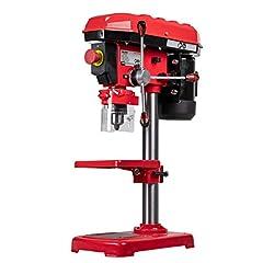 WALTER Tafelboormachine 500 W met draaibare boortafel voor schuine gaten, incl. boordieptestop en machinevice*