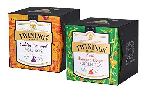 Twinings Platinum Golden Caramel Rooibos + Mango Ginger (2x 15 Teebeutel)