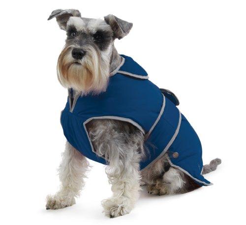Ancol Stormguard Hundemantel, M, marineblau