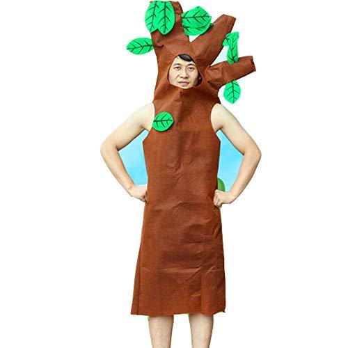 JJAIR Erwachsene Big Tree Kostüm, Lustig Pflanze Anzug Cosplay Leichte Bühnenaufführungen Mascot,190