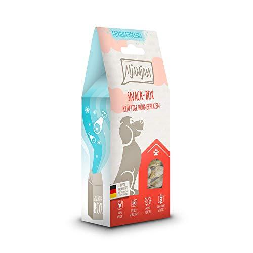MjAMjAM Snackbox - kräftige Hühnerherzen 70 g, 1er Pack (1 x 0.07 kilograms)