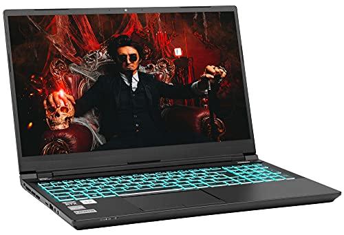 NEXOC Gaming Notebook (15,6 Zoll Full HD, 240 Hz) mit i7-10870H (5,00GHz Turbo), RTX 3070 8GB, 2TB SSD, 32GB DDR4 RAM, ohne Windows (GC5 737IGM 21V1)