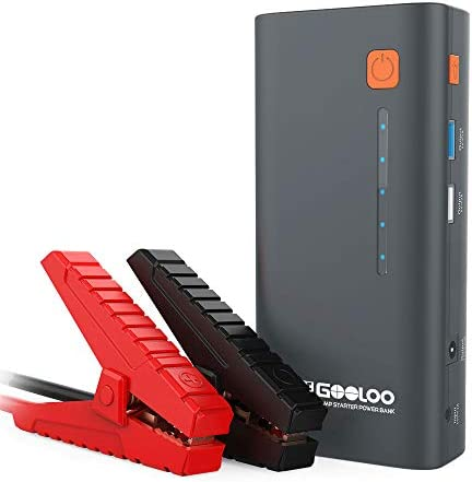 GOOLOO 1200A Peak 18000mAh SuperSafe Car Jump Starter with USB Quick Charge Up to 7 0L Gas or product image