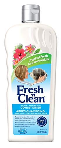 PetAg Fresh 'n Clean Oatmeal 'n Baking Soda Dog Conditioner - Tropical Fresh Scent - 18 fl oz