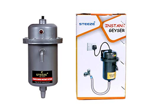 STEEZE Instant Water Geyser/Heater Best for Kitchen, Hotel, Bathroom, Hospital, and Outdoor