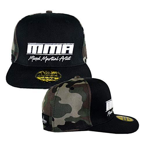 Dynamix Athletics Snapback Cap MMA Camouflage Kampfsport MMA Kappe Mütze Baseball Cap