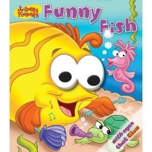Funny Fish (Jeepers Peepers) [Hardcover] by Hinkler Books
