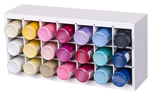 ArtBin Paint Storage Tray, Multi-Colour, 31.75 x 15.87 x 9.14 cm