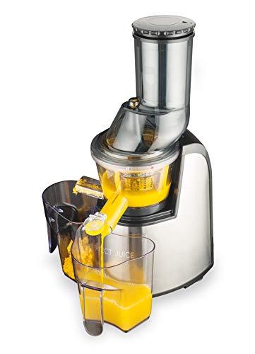 MACOM Just Kitchen 859 Perfect Juice Estrattore Di Succo / Slow juicer a freddo e a lenta rotazione per frutta e verdura con bocca larga 75 mm.