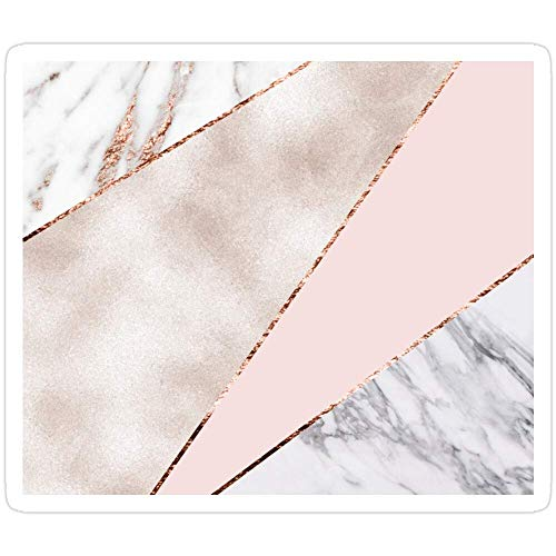 DKISEE 3 PCs Stickers Spliced Mixed Rose Gold Marble Sticker for Laptop, Phone, Cars, Stickers Decal for Laptops, Guitar, Fridge 4 inches