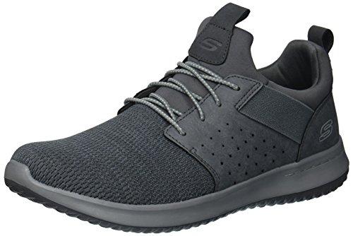Skechers Men's Classic Fit-Delson-Camden Sneaker,gray,9 M US