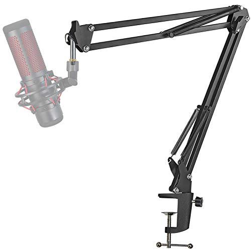 HyperX Quadcast Support Microphone Réglable - Pied Professionnel pour Microphone à Condensateur HyperX QuadCast S par YOUSHARES