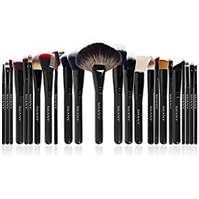 SHANY The Masterpiece Pro Signature Brush Set – 24pcs Handmade Natural/Synthetic Bristle with Wooden handle