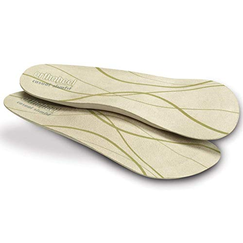 Vionic Women's Slimfit Relief 3/4 Length Orthotic Shoe Insole- Comfort, Cushion, Arch Support, Heel Pain Relief, Plantar Fasciitis, Bunion Relief for Flat Feet Small: Women's 6.5-8