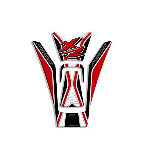 DAFEICHUAN Venta de Motocicleta 3D Gel Fuel Stay Pad Protection Pegatina Etiqueta Etiqueta de Tanque de Combustible para BMW F900XR 2020 F900 XR (Color : 7)