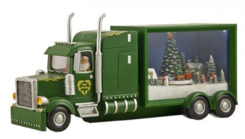 Camion verde di Babbo Natale