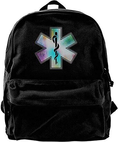 Haloxa Ems Vintage Unisex Canvas Shoulder Bag Travel Backpack School Bags