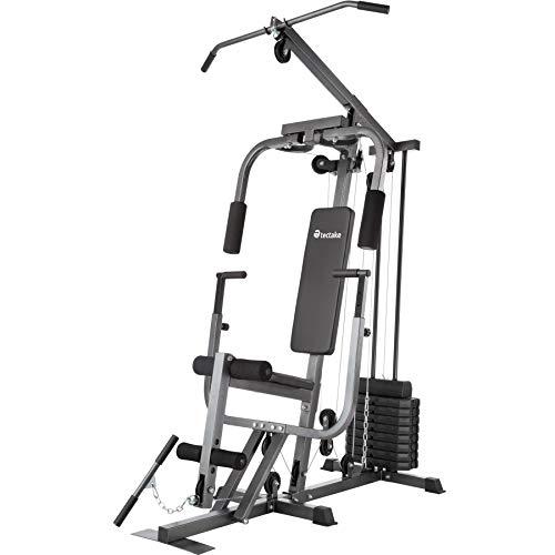 TecTake Station de Musculation Home-Trainer | Module Papillon | Dispositif d'Extension de Jambe