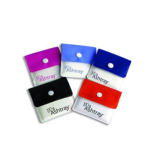 My Ashtray - Portacenere tascabile in 5 colori assortiti