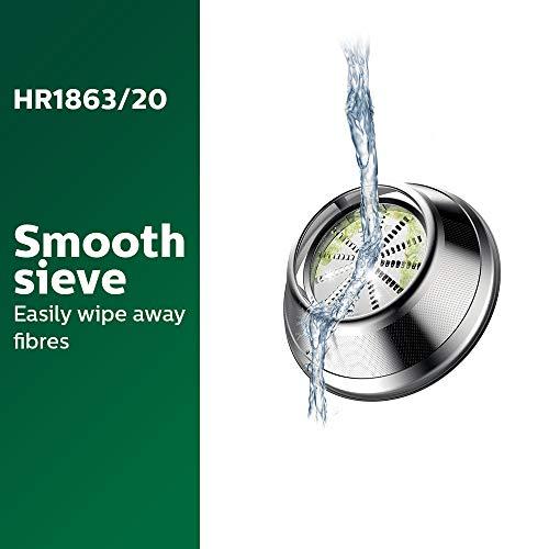 Philips Viva Collection HR1863/20 2-Litre Juicer (Black/Silver)
