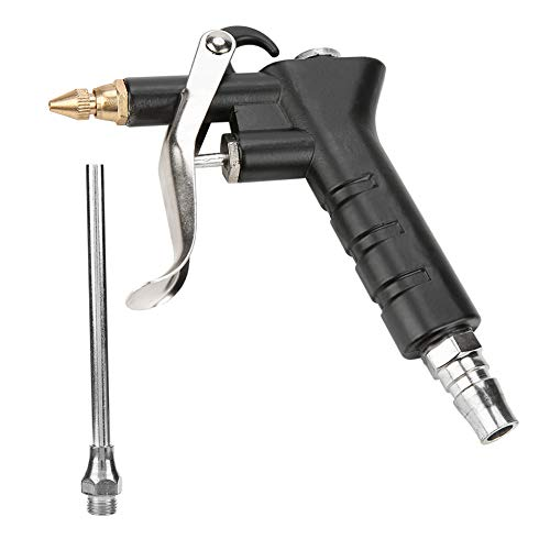 FTVOGUE 1/4 Compresor de Aire a Alta Presión Pistola de Soplado Tipo de Pistola Herramienta de Limpieza Neumática para Operaciones de Limpieza Industrial de Gran Volumen