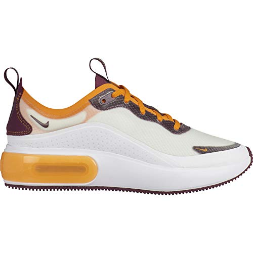 Nike Damen W Air Max Dia Se Leichtathletikschuhe, Mehrfarbig (White/Bordeaux/Orange Peel 103), 40.5 EU