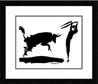 Buyartforless Framed The Bullfight Iii by Pablo Picasso Art Print Poster Wall Decor, 14