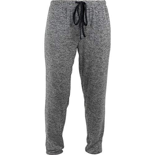 Hello Mello Pantalon de jogging super doux avec cordon de serrage pour femme - Gris - Small