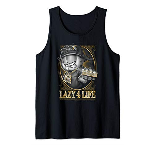 Garfield Lazy 4 Life Tank Top