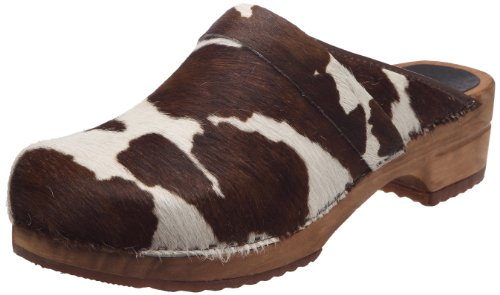 Sanita Herren Casper Open Clogs, Mehrfarbig (Brown Cow 3), 45 EU