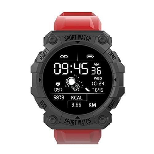 CloverGorge FD68S Reloj Inteligente Hombres Mujeres Pulsera Inalámbrico Monitor de Sueño Smartwatch