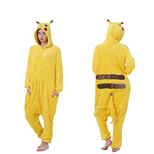 Xinxin24 Unisex volwassenen onesie kostm jumpsuit slaappak, huispak, joggingpak, diercosplay kost, pyjama hoodie, onesie nachtwsche pyjama's dieroutfit met capuchon