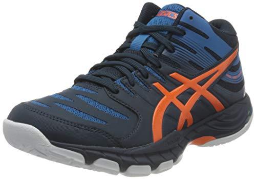 ASICS Herren Gel-Beyond Mt 6 Indoor Court Shoe, French Blue/Marigold Orange, 41.5 EU