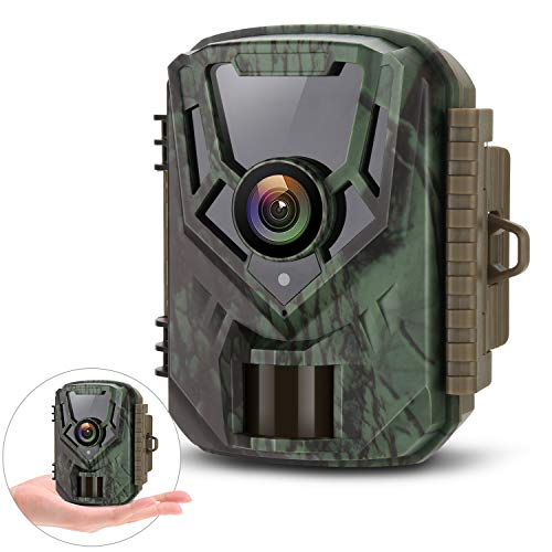 LETSCOM Trail Game Camera 0.4S Trigger Speed, 16MP 1080P Scouting Hunting Cams with Night Vision for...