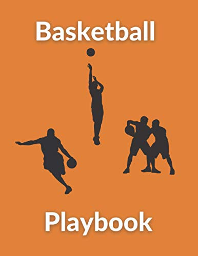 Basketball Playbook: Coaching Organizer Notebook Perfect Game Planner for Coach Training Kids Blank Board Clipboard Set Match Play Sport