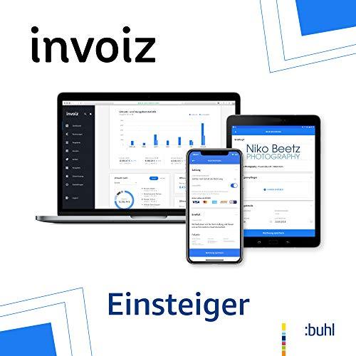 invoiz - Das Finanz- und Rechnungsprogramm für Selbstständige | Einsteiger: bis € 17.500 Jahresumsatz | Web Browser | Subscription (Nur Deutschland)