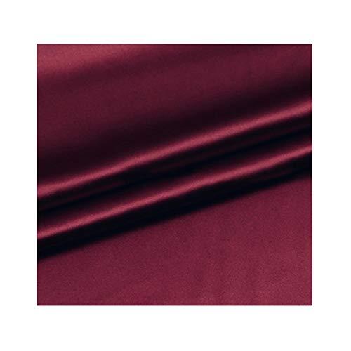 Anquanwang zijden satijn stof exclusieve elasticiteit naaien kleding decoratie jurk beddengoed
