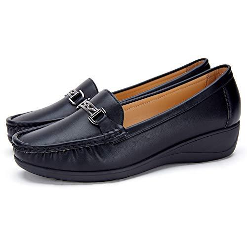Bottes Homme Chaussures dhiver Femme Mode Bottes de Neige en Cuir Outdoor Baskets Confort Sneakers /à Lacets Imperm/éables Bottes Martin Plates Taille 36-48 EU