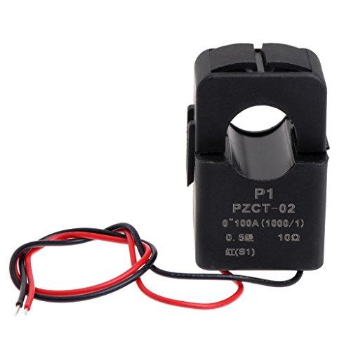 MSEKKO Transformador de Corriente de precisión Transformador de Corriente CA Bobina PZCT-2 100A / 100mA para voltímetro de CA amperímetro