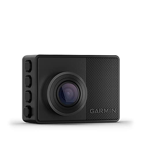 """Garmin Dash CAM 67W – Cámara Delantera para Coche con Pantalla de 2"""", 1440 píxeles y 180 Grados, Detector de incidentes y Modo vehículo aparcado, 3.7 MP"""