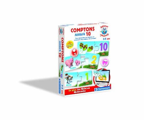 Clementoni - 62017 - Jeu Educatif - Teddy le genie - La ferme de 1 a 10 - 3-5 ans