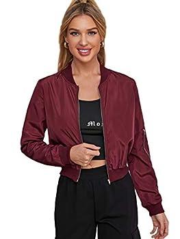 Best burgundy bomber jacket Reviews